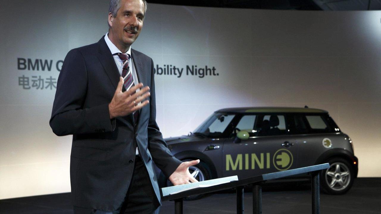 Dr. Klaus Draeger, BMW chief of development 2010