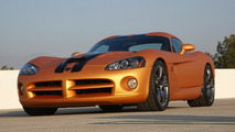 Dodge Viper burning rubber video