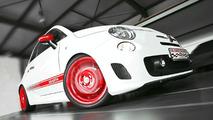 Fiat 500 Abarth bumped to 200hp by Karl Schnorr Kraftfahrzeuge