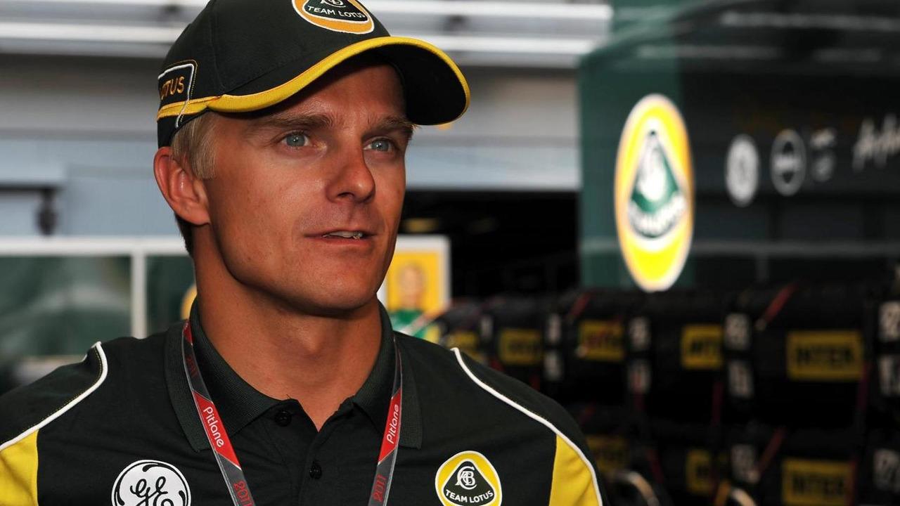 Heikki Kovalainen 08.09.2011 Italian Grand Prix
