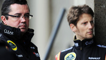 Boullier exit 'a surprise' - Grosjean