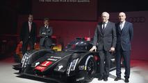 2014 Audi R18 e-tron quattro unveiled with laser lights