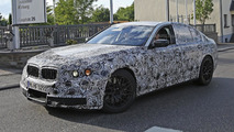 Next-gen M5 spied returning to the BMW M test center