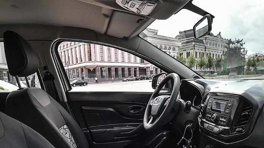 First Lada XRAY interior photos released