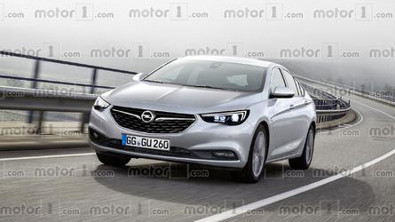 We imagine the sharper 2017 Opel Insignia Grand Sport