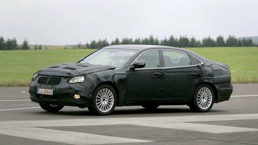Mystery Hyundai Luxury Prototype Sedan Spied with New Genesis