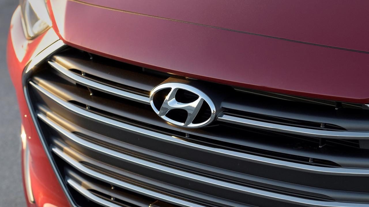 Hyundai Elantra grille