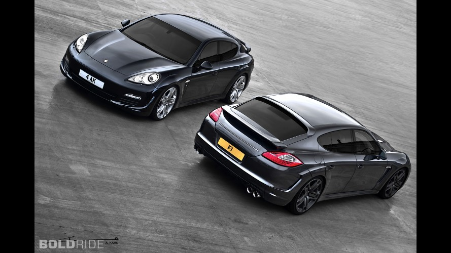 A. Kahn Design Porsche Panamera Wide Track