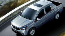 SsangYong updates Korando Sports in South Korea
