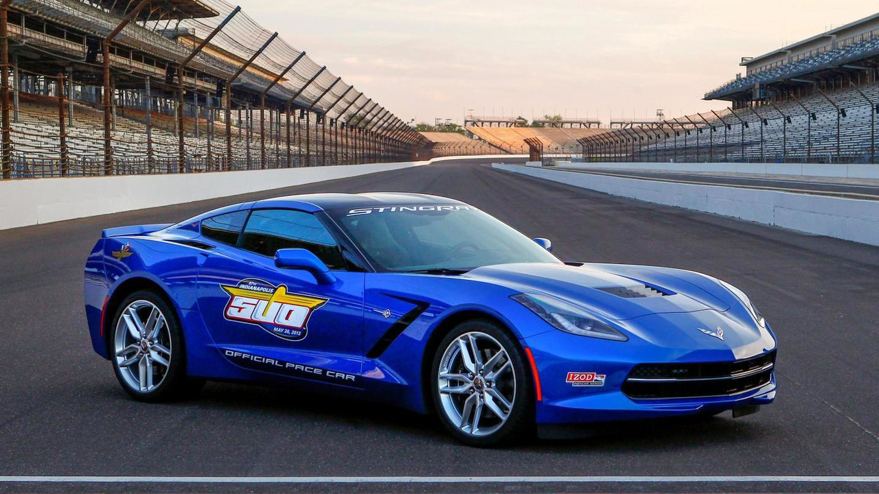 Chevrolet Corvette Stingray Indy 500 Pace Car 03.05.2013