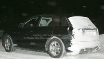 Audi Q5 caught cold testing