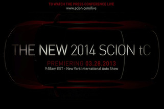 Scion Prepping Fresh tC Sports Coupe For New York Auto Show