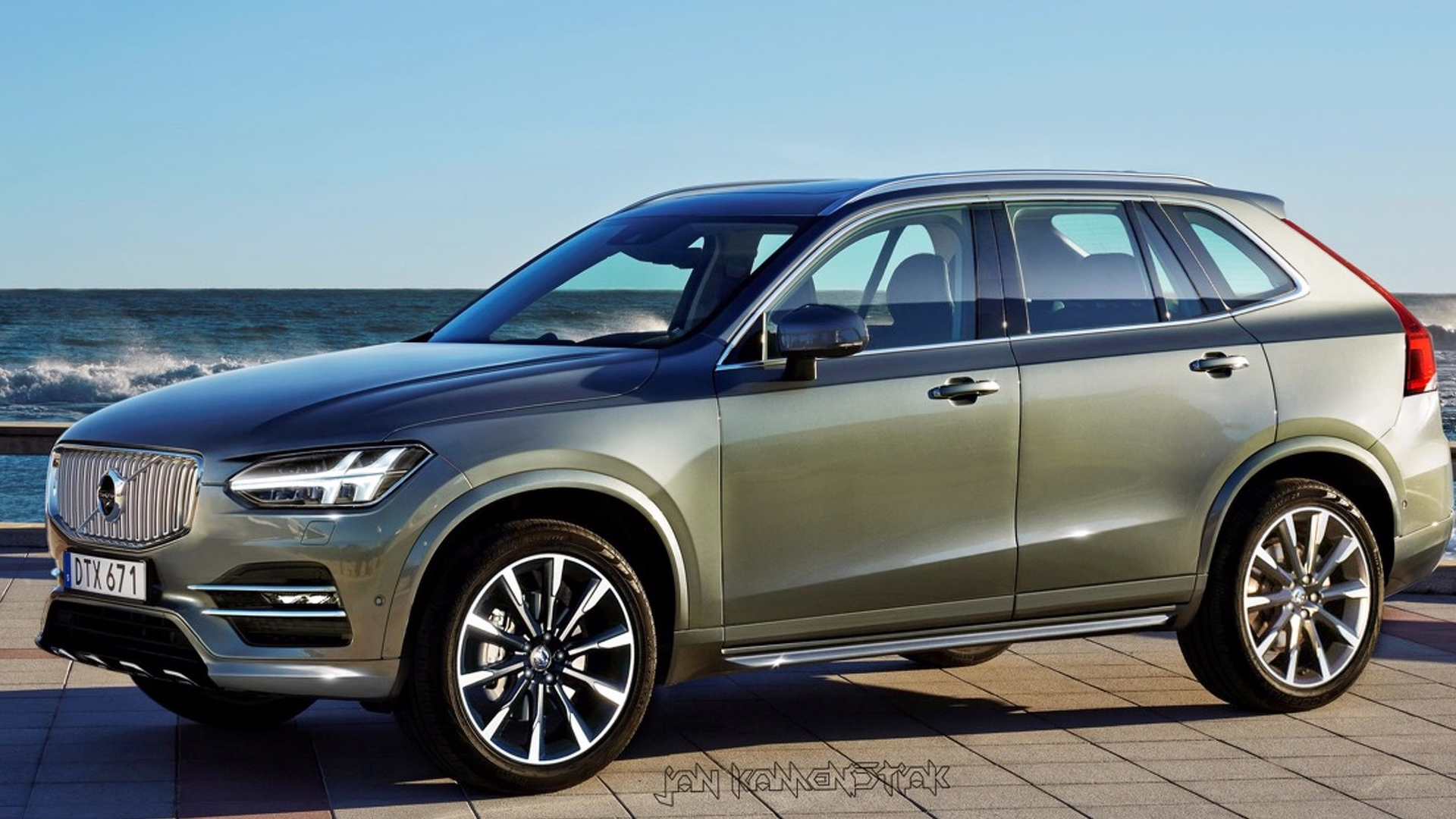 Next Gen Volvo Xc60 Rendered As Baby Xc90