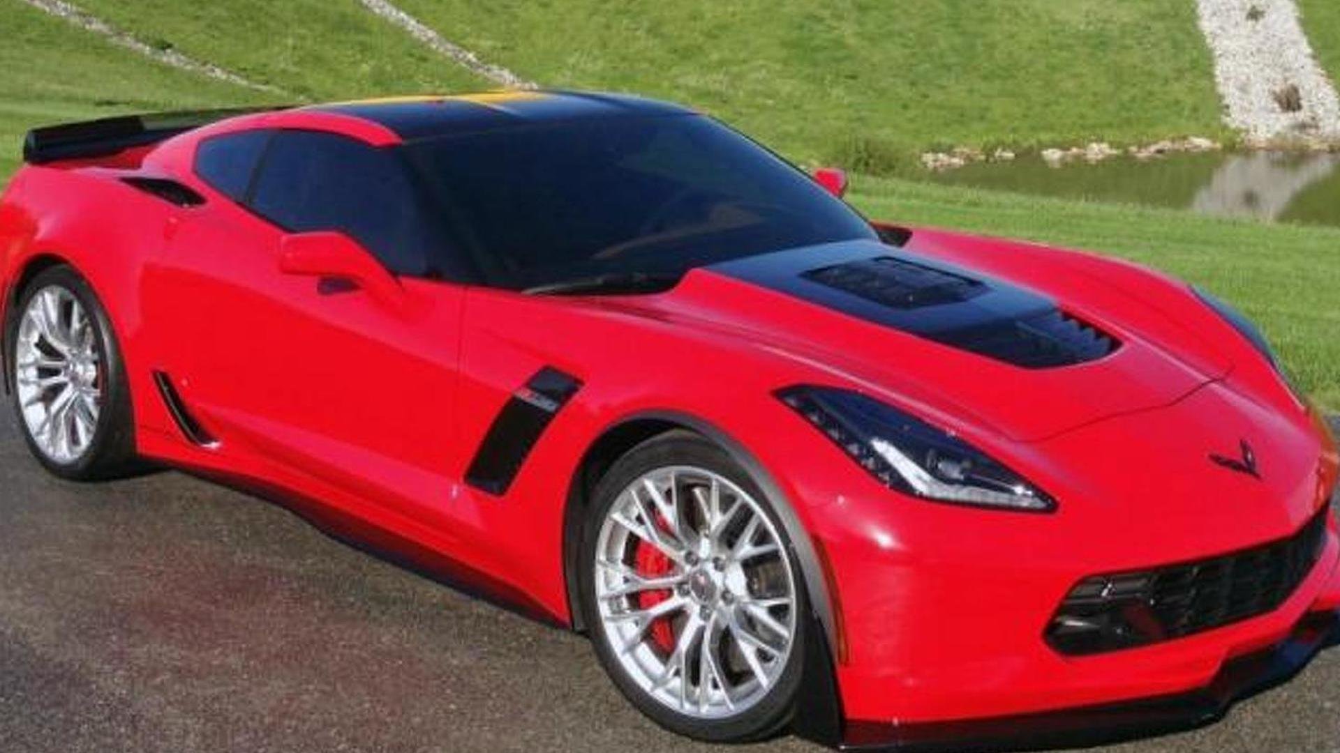 Callaway tunes the Corvette Z06 to 757 bhp