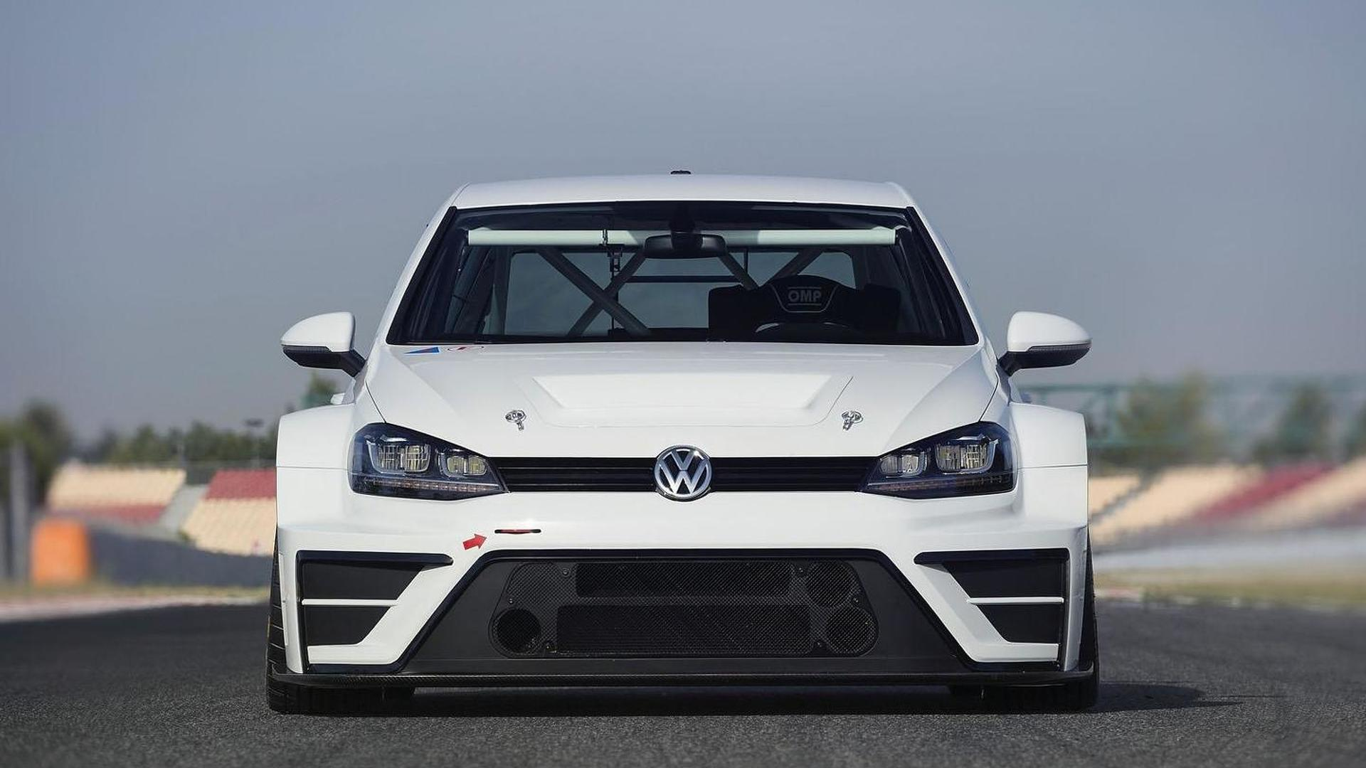 Volkswagen Motorsport unveils their Golf race car concept