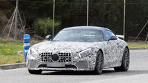 Mercedes AMG GT R spied, will debut at Goodwood