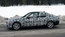 2012 BMW 3-Series F30 winter testing spy photo, 09.12.2009