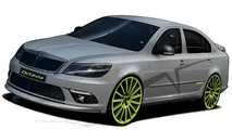 Skoda Octavia RS+ preview illustration, 800, 10.05.2010