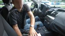 2012 BMW 3-Series interior spied