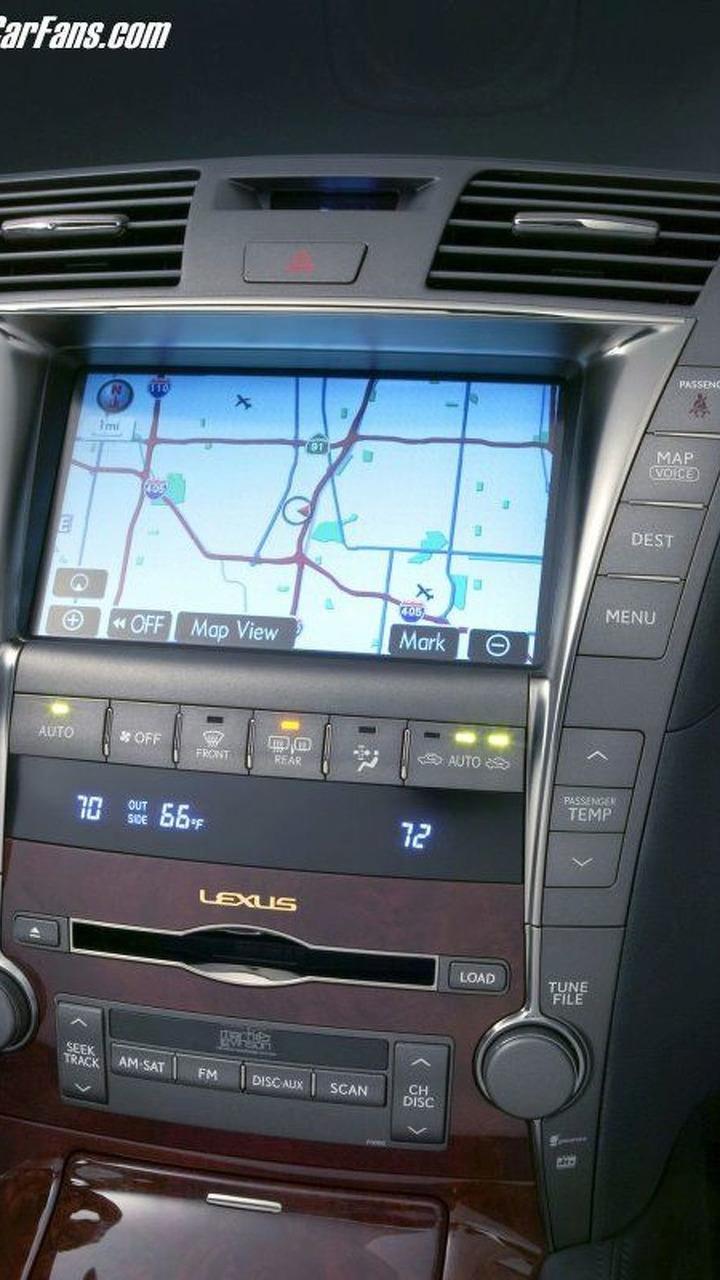 Lexus LS460 Mark Levinson In-Car Audio System
