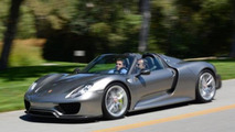 Porsche 918 Spyder revealed in production guise