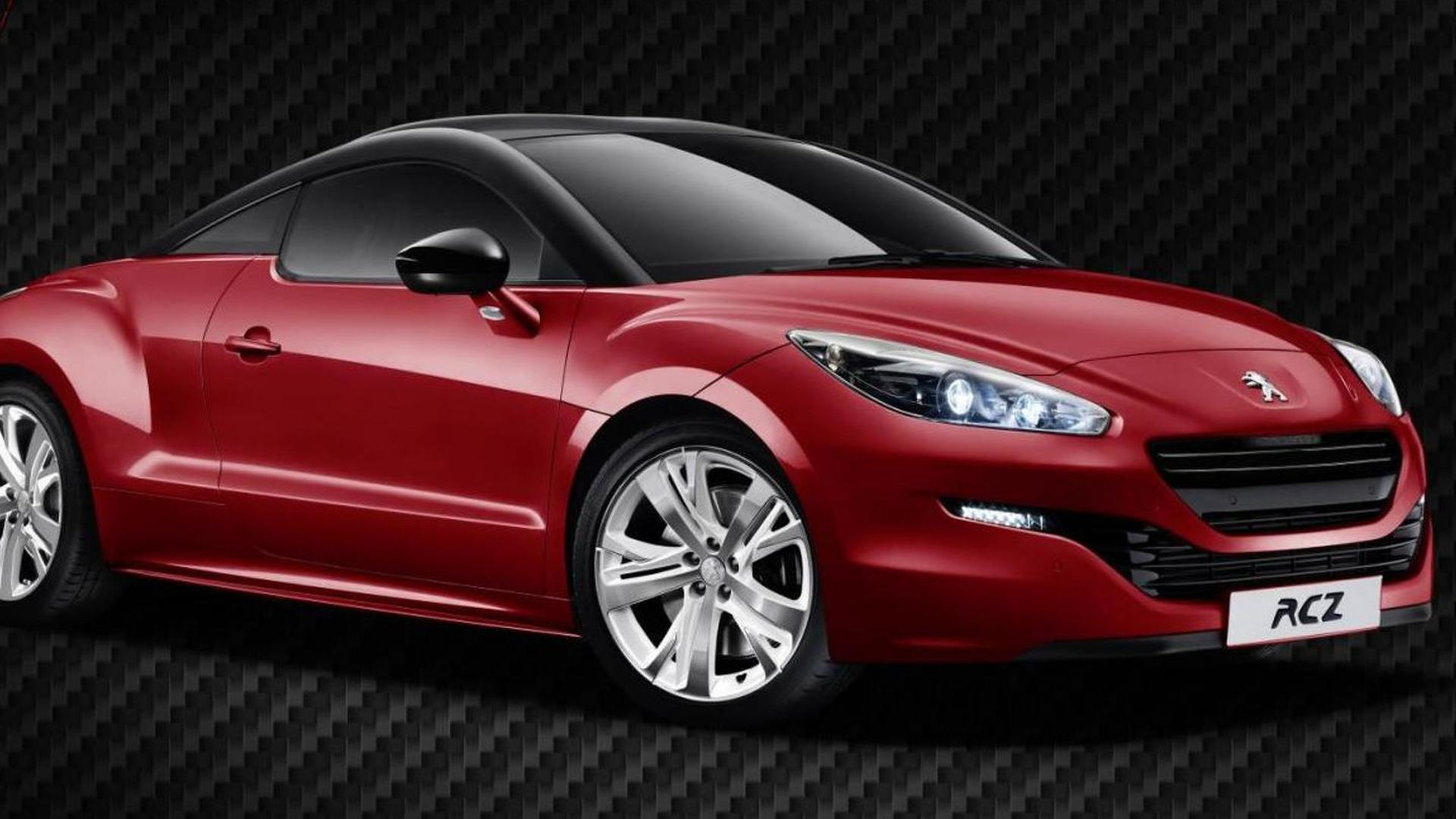 Peugeot RCZ Red Carbon announced for the U.K.