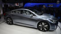 Subaru Legacy concept celebrates the model's 25th anniversary in Los Angeles