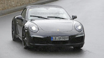 2015 Porsche 911 GTS Cabriolet spied in Germany