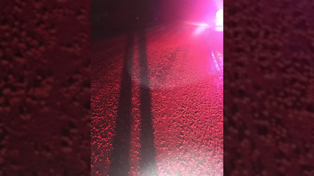 Truckload of Skittles spilled on highway is a sugar addict's delight