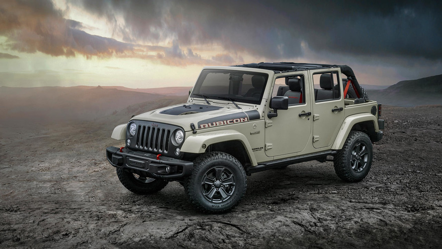 Jeep toughens up Wrangler with Rubicon Recon