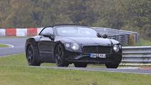 2018 Bentley Continental GTC spy photo