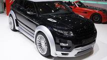 Hamann Range Rover Evoque live in Geneva 06.03.2012