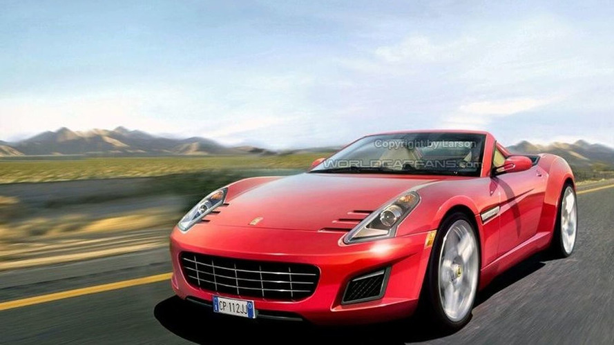 Rendered Speculation: Baby Ferrari