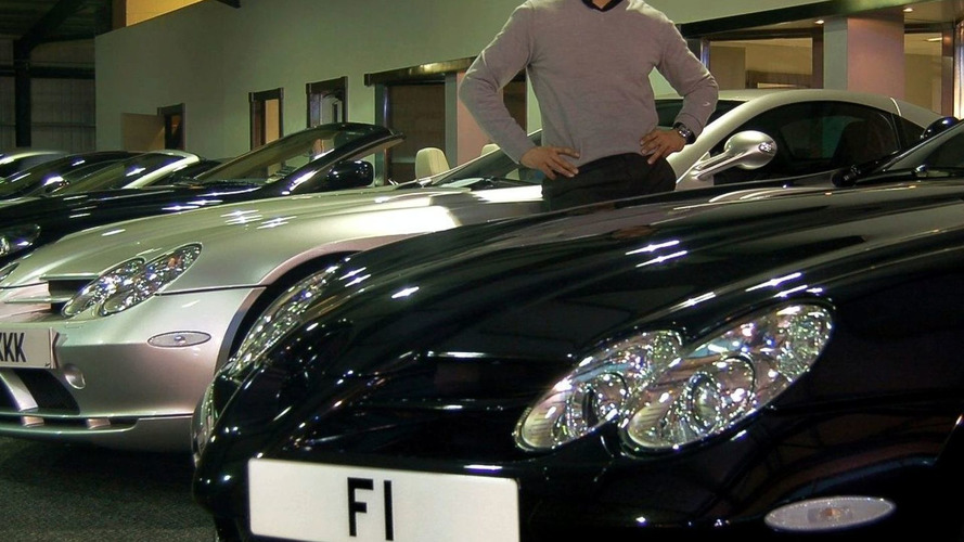 F1 License Plate sold for GBP 440,625