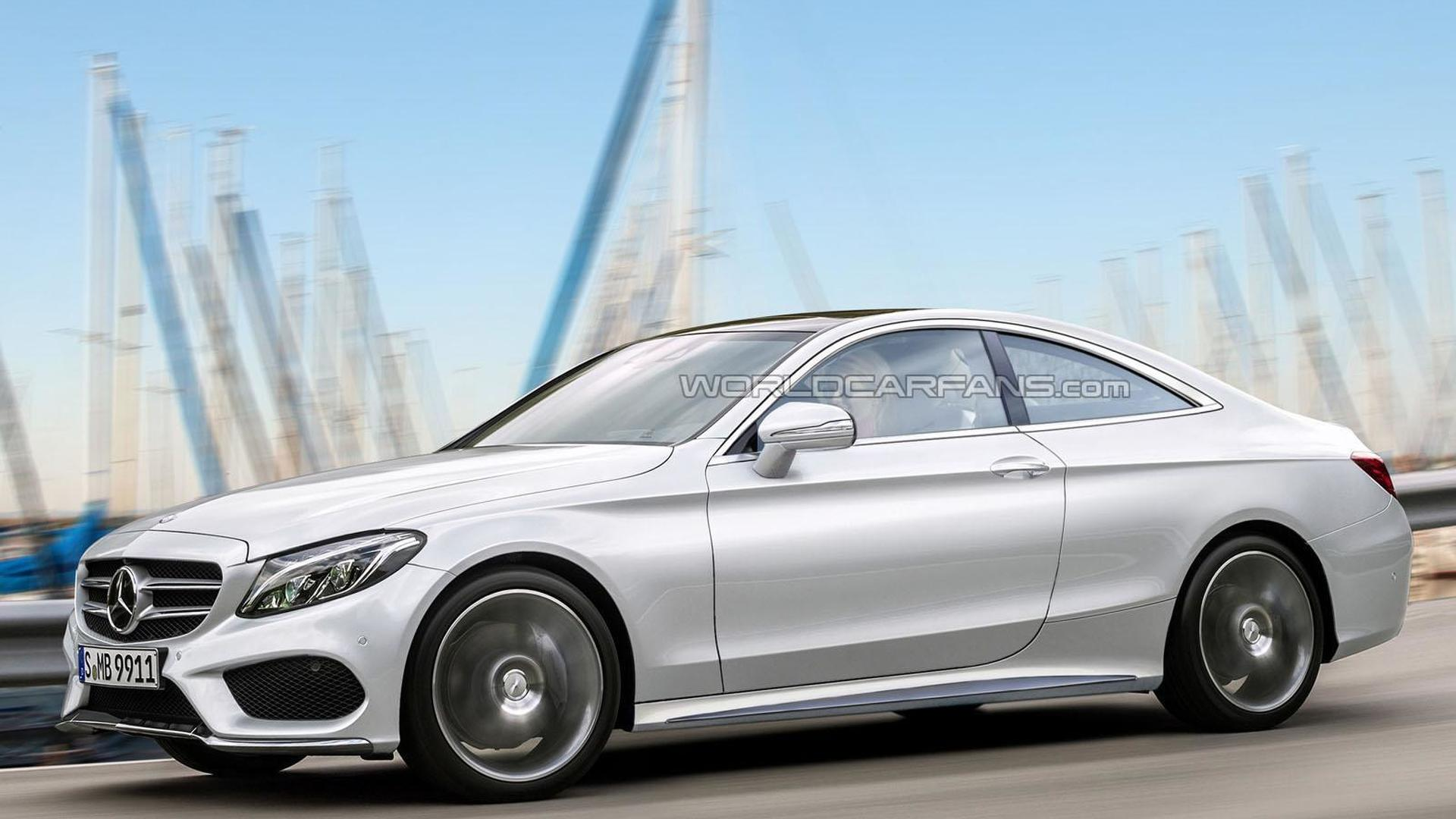 mercedes benz c class coupe allegedly going up for order in september. Black Bedroom Furniture Sets. Home Design Ideas
