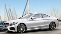 Mercedes C-Class Coupe reportedly coming next December