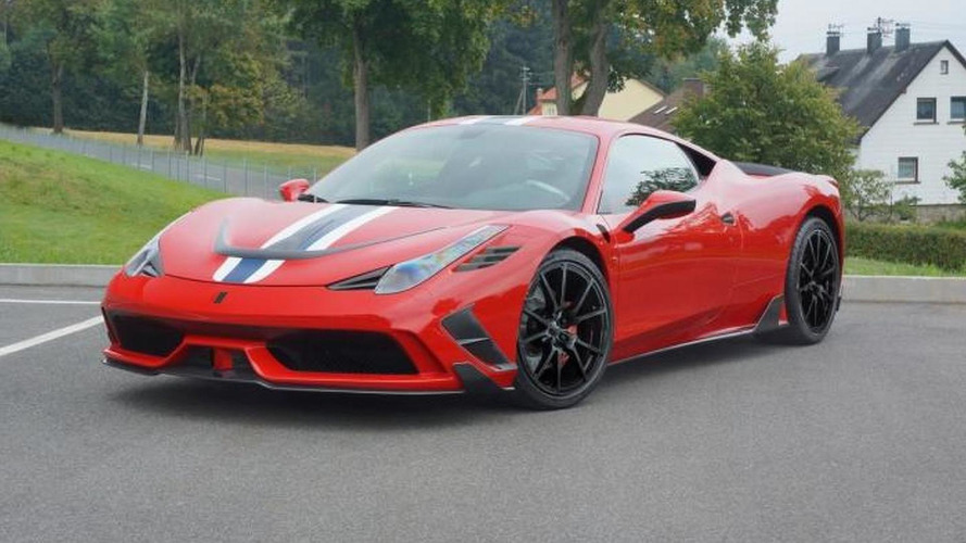 Ferrari 458 Speciale tuning program announced by Mansory