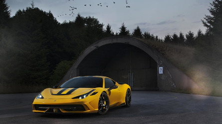 New tuning program for Ferrari 458 Speciale introduced by Novitec Rosso