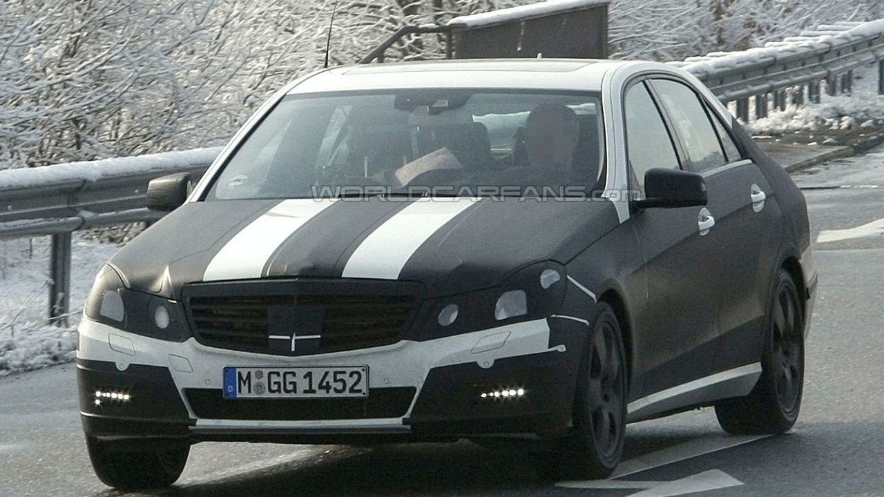 Mercedes E-Class Spy Photo