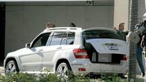 Mercedes GLK Undisguised on TV Set