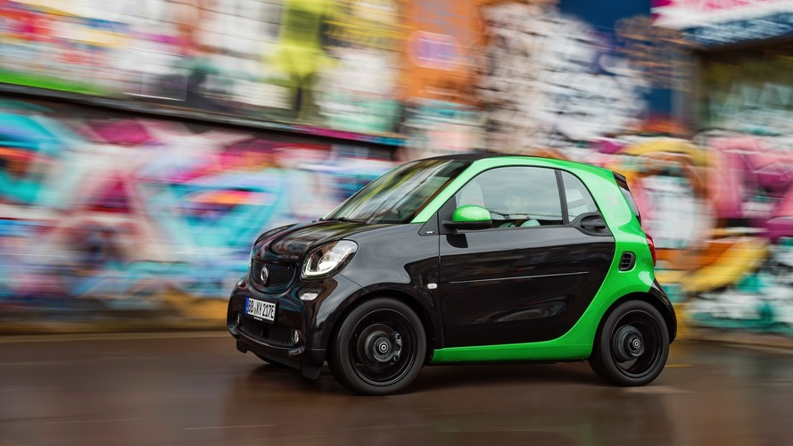 Smart gives up on gas-powered cars in the US