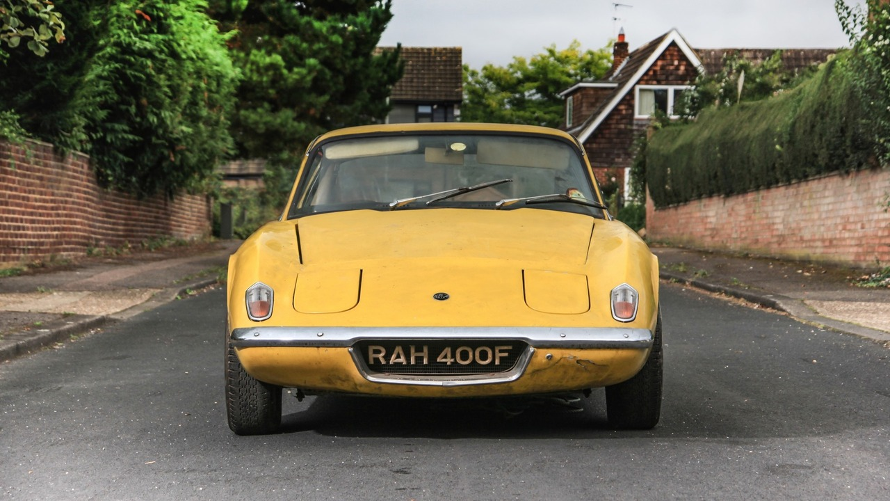ex graham hill lotus elan given by colin chapman has no auction reserve. Black Bedroom Furniture Sets. Home Design Ideas