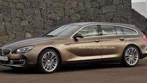 BMW 6-Series Gran Touring rendered