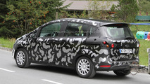 2012 Ford B-Max spied for the first time