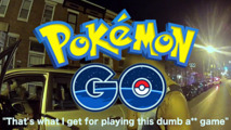 Pokemon Go player crashes into police car
