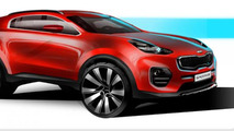 2016 Kia Sportage teased, debuts at IAA