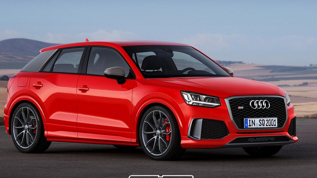 Audi RS Q2 render