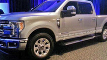 2016 Ford F-250 Super Duty caught undisguised at presentation