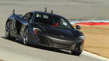 McLaren 650S visits the Laguna Seca circuit