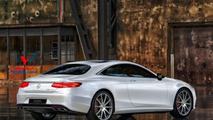 2015 Mercedes-Benz S63 AMG Coupe artists rendering